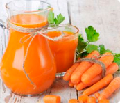 What kind of carrot is needed for juice?